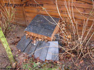 Plans pour réaliser une cabane à Hérisson!