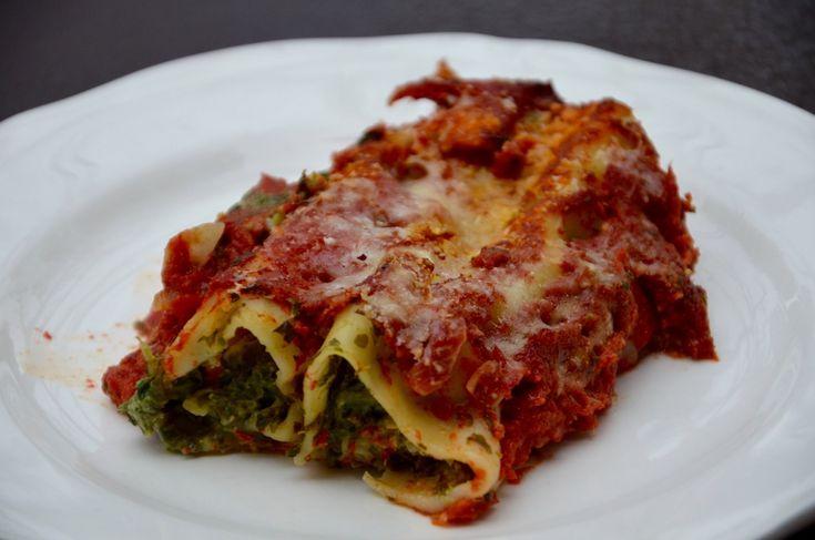 Un plat v g tarien l 39 italienne complet et d licieux ingr dients pour 4 personnes 20 - Cuisine italienne cannelloni ...