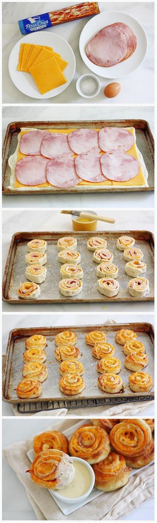 Ham and Cheese Pretzel Bites   Nosh-up