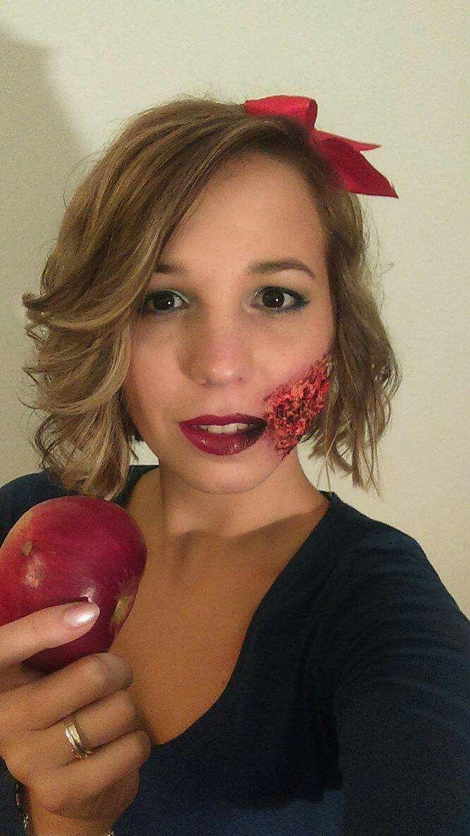 #makeupbyme #halloween #halloweenmakeup #snowwhite