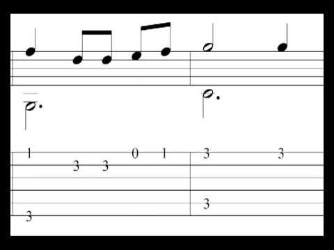 Las mañanitas - Video Sheet Music / Guitar Tab