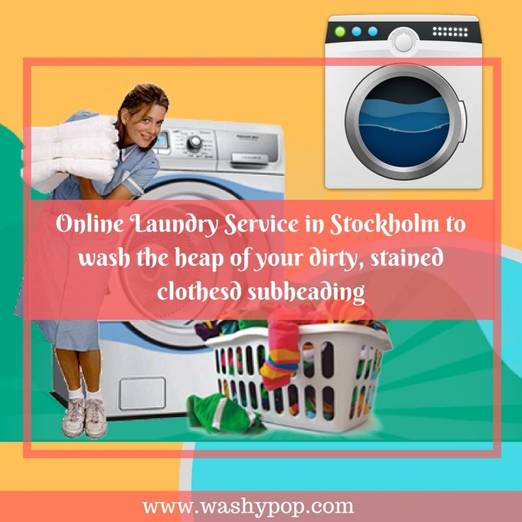 #Washypop, a Sweden based company provides the best and clean #OnlineLaundryServiceInStockholm having a panel of professional washers provides an affordable way of getting your clothes washed with ease.
