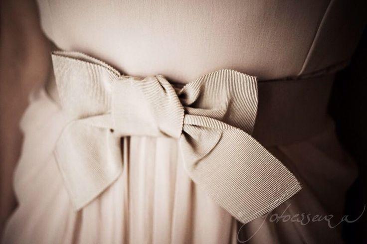 Wedding details, the dress