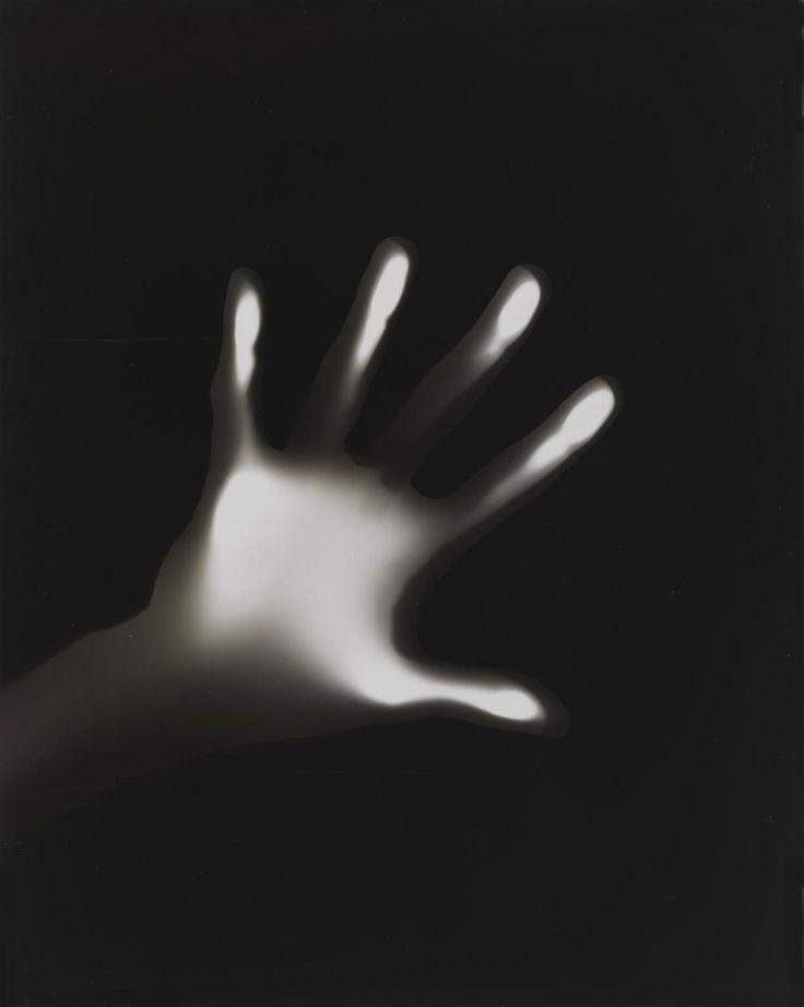 György Kepes 'Hand on Black Ground', c. 1939–40 © estate of György Kepes  -Photograph, gelatin silver print on paper http://www.tate.org.uk/art/artworks/kepes-hand-on-black-ground-p80561