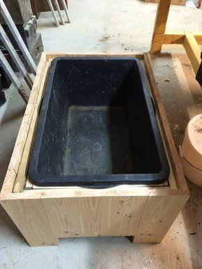 Pflanzkübel aus Holz selber bauen