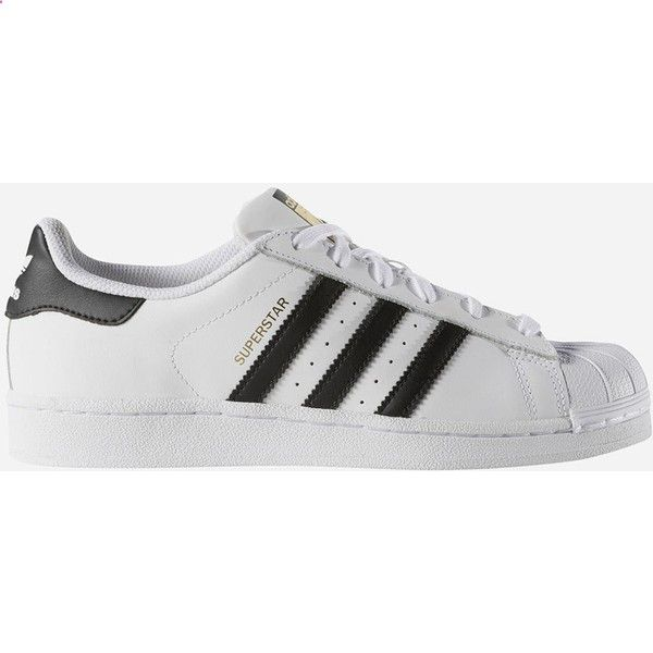 Adidas Superstar Womens Shoes ($80) ❤ liked on Polyvore featuring shoes, stripe shoes, breathable shoes, herringbone shoes, adidas footwear and adidas shoes