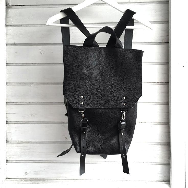 Рюкзак из натуральной кожи. в магазине «VERESK» на Ламбада-маркете