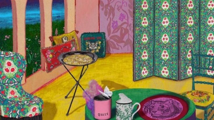 The Renowned fashion house Gucci is adventuring in the world of home interiors by creating a unique and eclectic collection of pieces  ➤ To see more news about Luxury designs visit us at http://www.covetedition.com/ #covetedmagazine #luxurylifestyle #gucci @CovetedMagazine @gucci