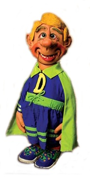 Jeff Dunham: Do you have an arch-nemesis?  Melvin the Superhero: No, I wear corrective shoes.