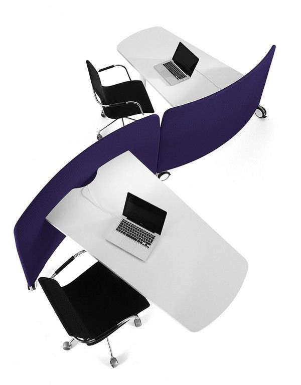 mobile and flexible workstation by Abstracta