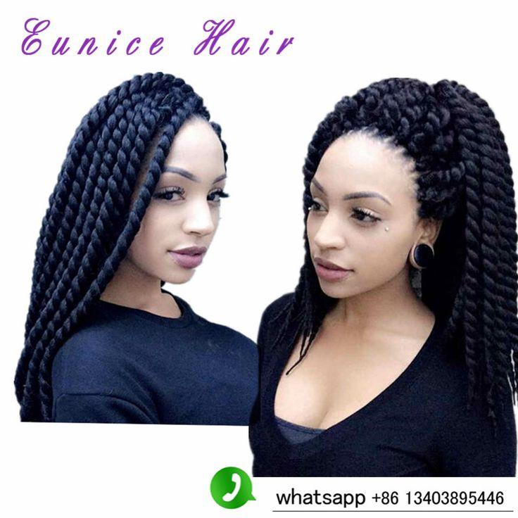 (5pieces/lot) Havana Mambo Twist Crochet Braids 12-24'' 100g/pack Afro Kinky Marley Braiding Hair Curly Crochet Synthetic Braids