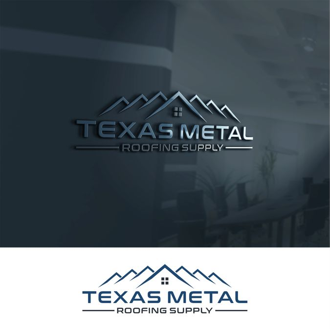 Fresh, new logo for metal roofing supply company by udan™