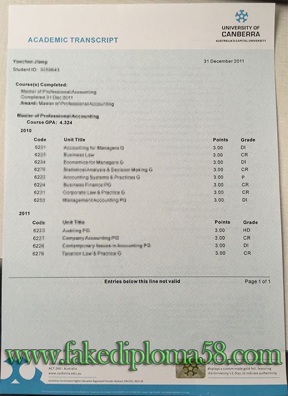 university of canberra transcript  buy fake degree  buy