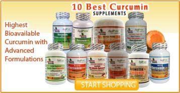 The 10+ Best Curcumin turmeric Supplements