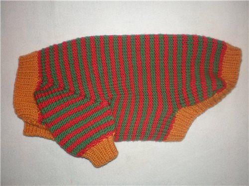 Описание свитерка-комбинезона для собак для Irina (Ирина)