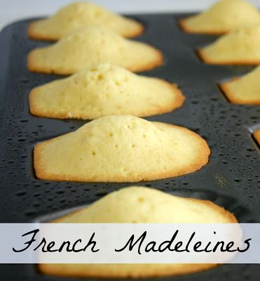 Amazing French Madeleines pastry cookies that are so simple. - by Lavende and Lemonade