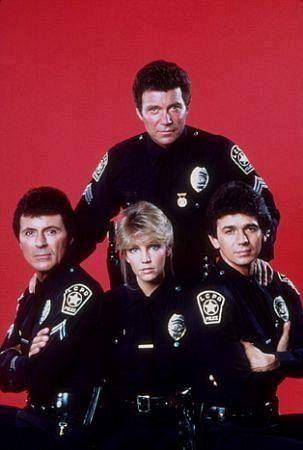 """T.J. Hooker"" Heather Locklear, James Darren, William Shatner, Adrian Zmed 1984 ABC"