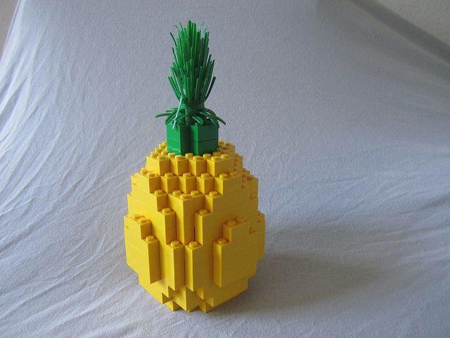 Lego Pineapple Lego Legos And Lego Food