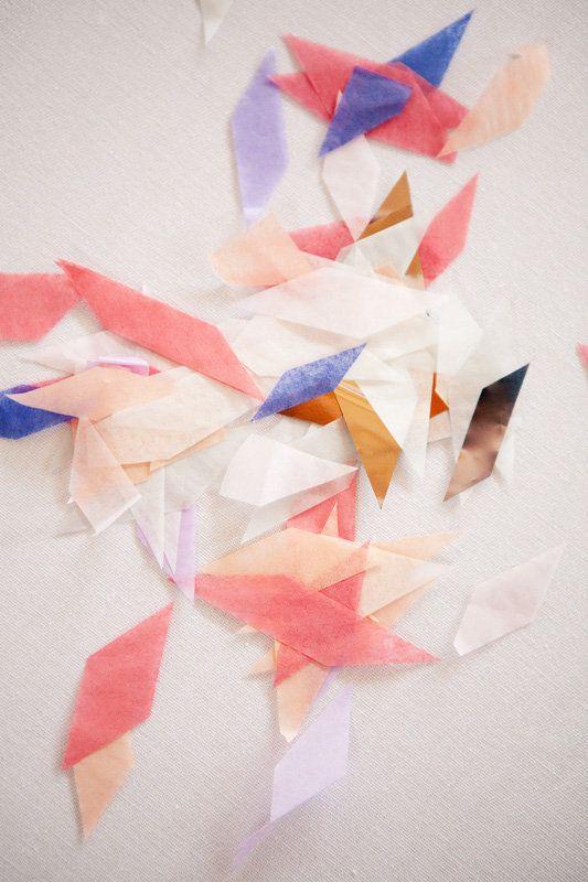 confettiCobalt, Especially, Gallery, Blue, Paper Confetti, Parties Ideas, Pastel Colors, Tissue Paper, Flower Girls