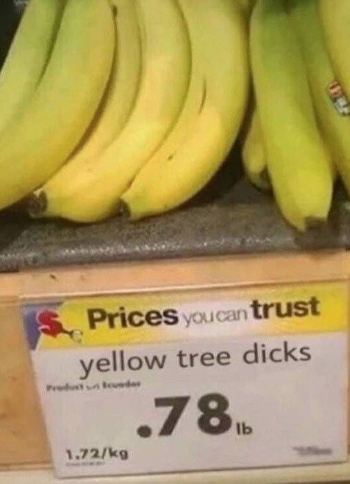 New Bananas from Walmart - Funny Pictures at Walmart