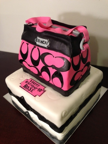 Coach Purse - Kelley's Cake Creations