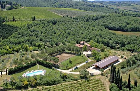 Séjour équestre en Toscane par Cheval d'Aventure - Mon agriturismo en Toscane