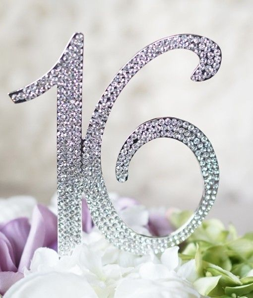 Cute 16 cake topper for your #sweet16 #cakecake #birthday #birthdaycake sweet 16! under $22 at lepetitpainstore.com