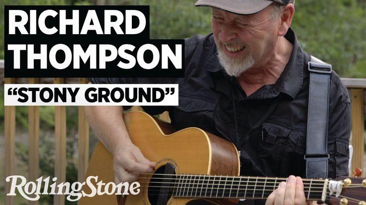 "Richard Thompson Performs ""Stony Ground"""