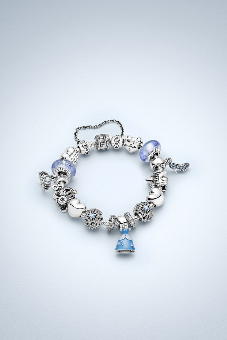Design Your Own Happily Ever After Fairy Tale Bracelet With Pandora's  Cinderella Charms #pandoralovesdisney