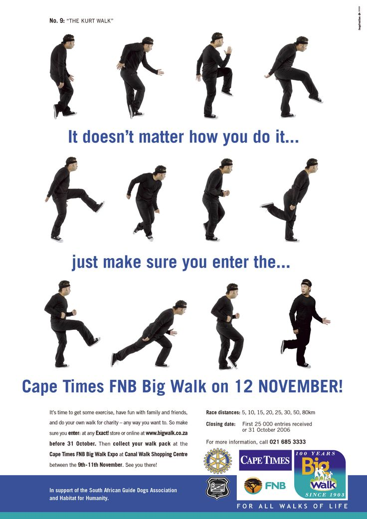 big walk campaign