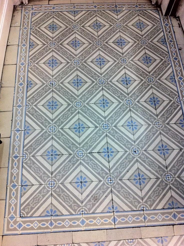 Zementfliesen, Belgien. cement tiles, belgium.   Patterns
