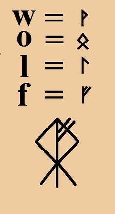 Wolf rune