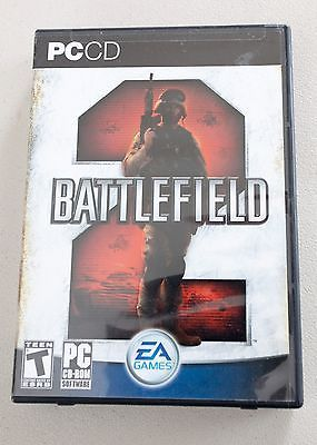 Battlefield 2 (PC, 2005) Includes Case and Manuals all in Great Condition