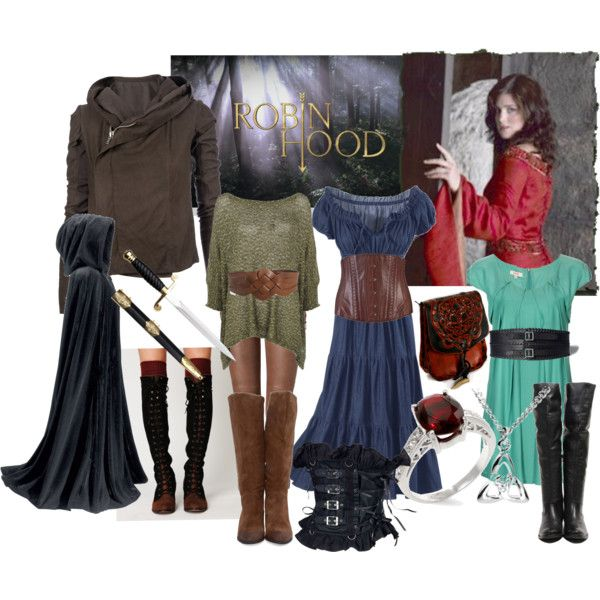 "My first wardrobe plot for Maid Marian from the BBC's ""Robin Hood"" - Bri (b-scottyer on Polyvore)"