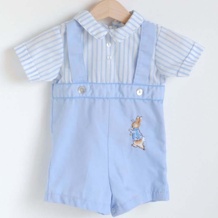 I love Peter Rabbit, it is my favourite brand of baby clothes. I have a whole big container in storage full of PR that all three of my boys wore and I'm hoping I can reuse them on a girl one day