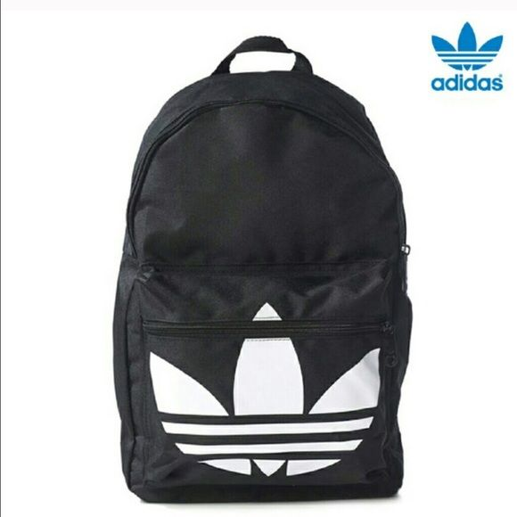 RARE adidas back pack! just bought this New with Tags! and got another back pack a as a gift! just want to make my money back! has a laptop pouch inside! Adidas Bags Backpacks