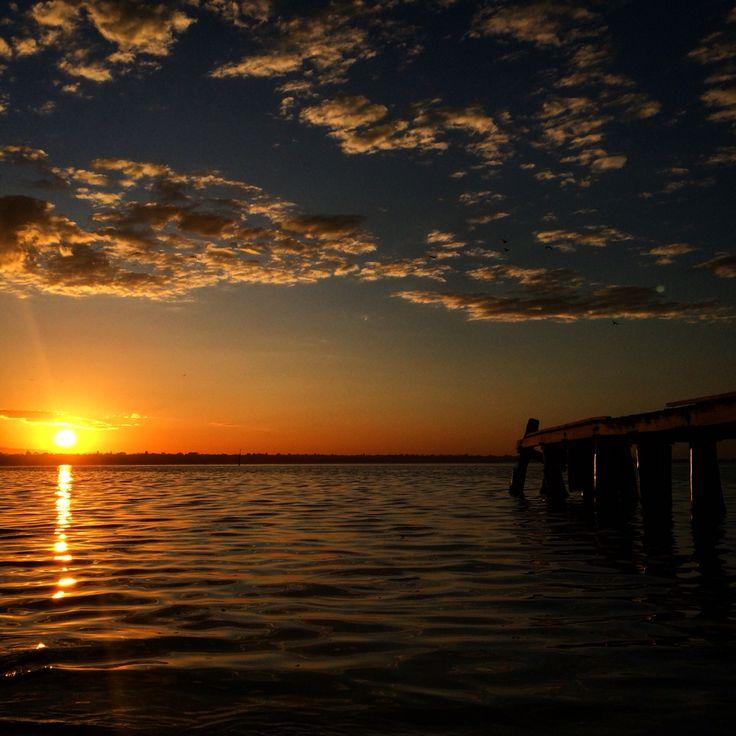 Sunrise over Beaumaris Bay - Mentone, Parkdale, Mordialloc