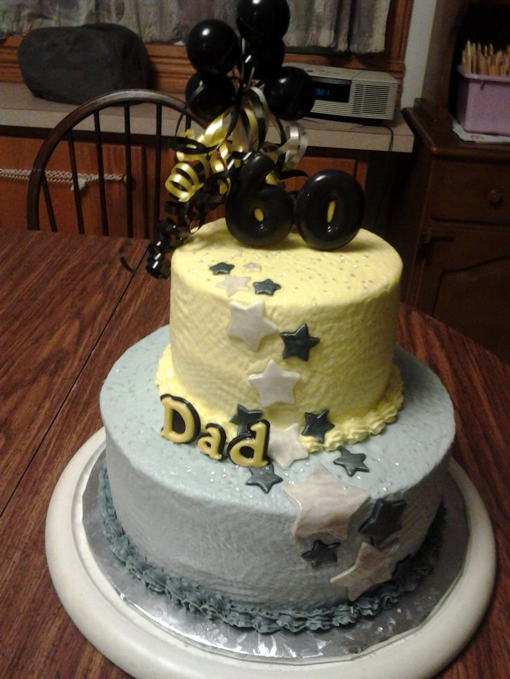 46 Best Images About 60th Birtday Cakes On Pinterest