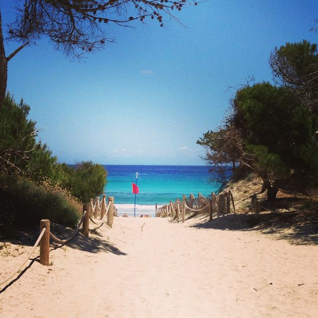 Cala Agulla, Mallorca - ein toller Strand in der Nebensaison