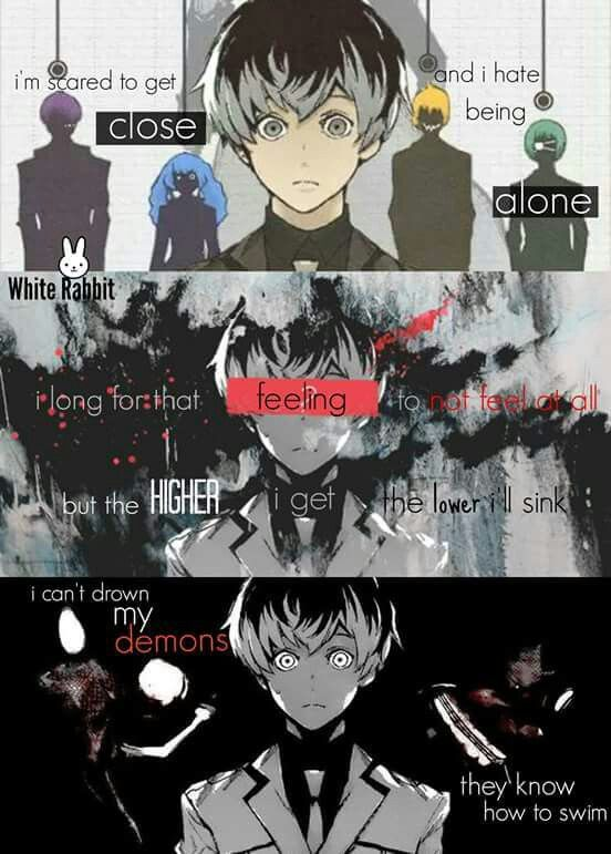 Tokyo Ghoul Re With Bring Me The Horizons Lyrics Of Can You Feel My Heart Song Was This Song Mad For This Anime
