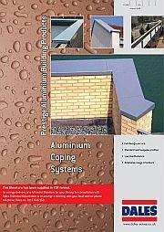 Aluminium Wall Copings or Cappings