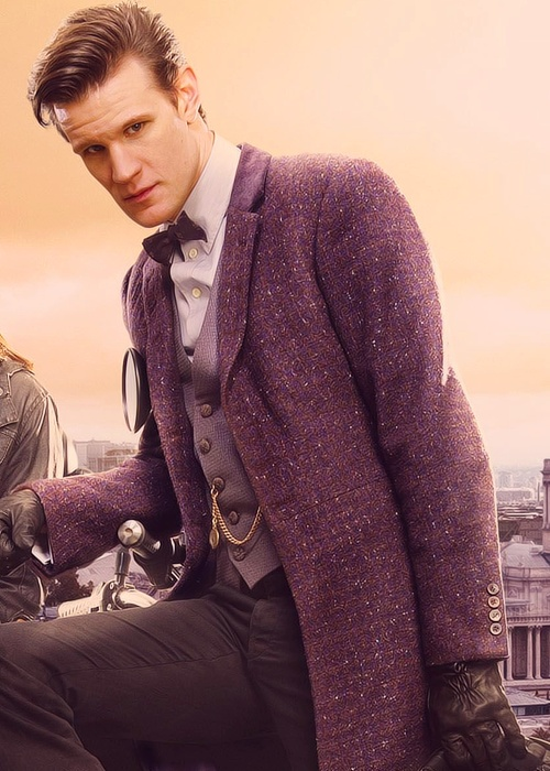 Matt Smith, again. The outfit makes me #sorrynotsorry for the repeat! Stunning.
