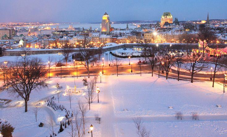 I feel this je-ne-sais-quoi for Québec City. Maybe one day!