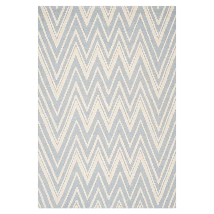 Teppich Luca - Blau/Elfenbein - Maße: 152 x 243 cm, Safavieh Jetzt bestellen unter: https://moebel.ladendirekt.de/heimtextilien/teppiche/sonstige-teppiche/?uid=00b1e03d-0606-58ce-bfa4-81b681efbd97&utm_source=pinterest&utm_medium=pin&utm_campaign=boards #accessoires #kurzflorteppiche #heimtextilien #sonstigeteppiche #teppiche #safavieh