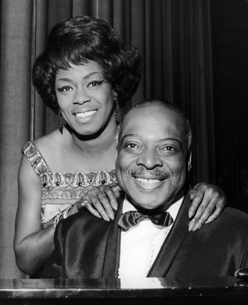 Sarah Vaughan and Count Basie (c.1960's)♫♥♫♫♥♫♥♥J