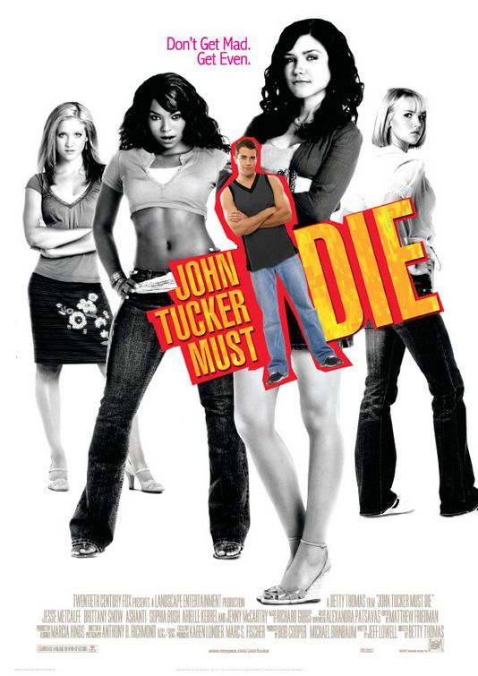 John Tucker Must Die , starring Jesse Metcalfe, Ashanti, Arielle Kebbel, Sophia Bush. Three ex-girlfriends of a serial cheater set up their former lover to fall for the new girl in town so they can watch him get his heart broken. #Comedy #Romance