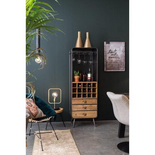 Barek w stylu indystrialnym #TwojeMeble #TwójDesign #TwójBarek #VINO #Dutchbone #industrial #loft