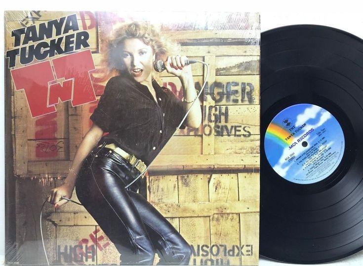"Tanya Tucker ""TNT"" MCA Records MCA-3066 in-shrink Original LP Vinyl Record Album"