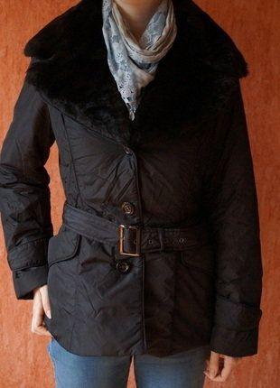 Kaufe meinen Artikel bei #Kleiderkreisel http://www.kleiderkreisel.de/damenmode/mantel-and-jacken-sonstiges/143609954-neuwertig-schwarze-steppjacke-mit-abnehmbaren-webpelzkragen