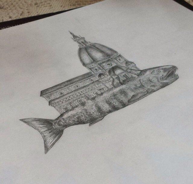 Cúpula de Florencia sobre pez
